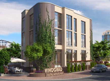 """Концепція ресторану """"Vinograd"""" [ч1]"""